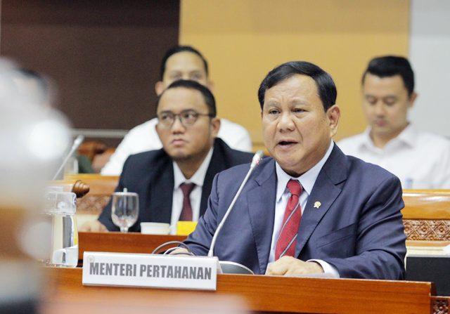 Menteri Pertahanan Prabowo Subianto (Dery Ridwansah/ JawaPos.com)