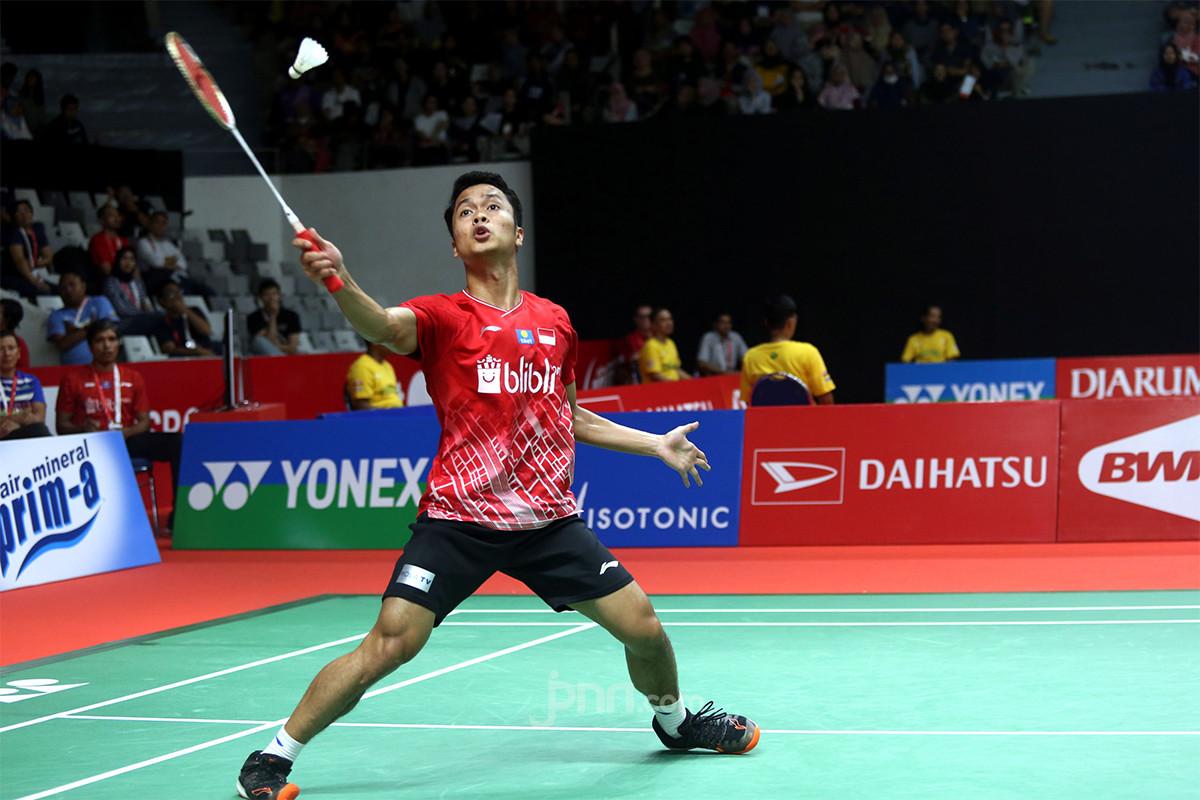 Tumbangkan Wakil Tiongkok, Ginting Melaju ke Semifinal Indonesia Masters 2020