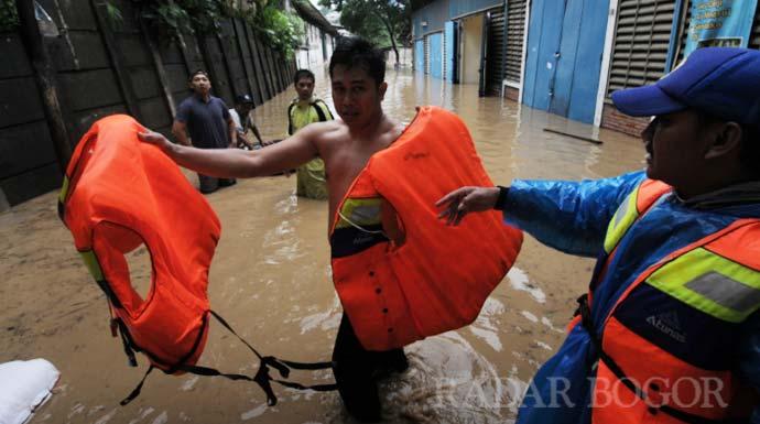 BNPB: Bencana Banjir Jabodetabek dan Lebak, 43 Orang Meninggal