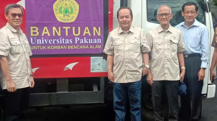 Unpak Kirim Bantuan Logistik dan Bahan Bakar di Lokasi Bencana