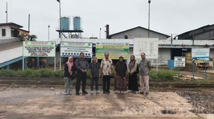 Dosen IPB University Berikan Solusi Pengolahan Limbah Tandan Kosong Kelapa Sawit