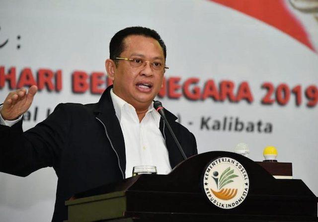 Ketua MPR RI Bambang Soesatyo (Bamsoet) mengapresiasi kinerja Jaksa Agung Burhanudin yang bergerak cepat dan tepat dalam menuntaskan skandal Jiwasraya. (dok MPR RI)
