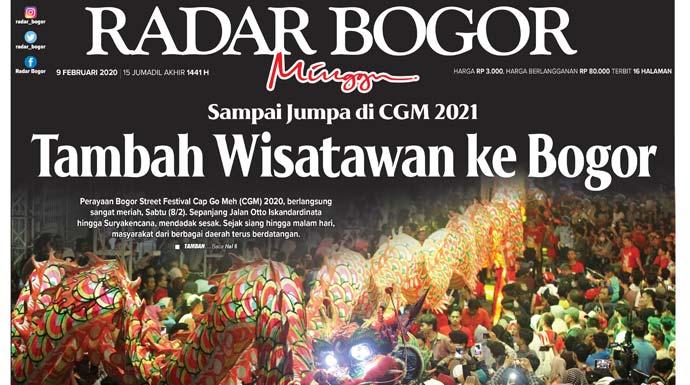 Epaper Radar Bogor Edisi 9 Februari 2020