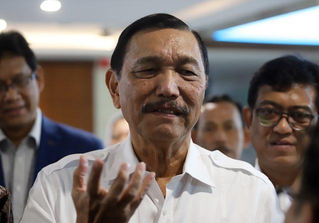 Menko Maritim Luhut Binsar Panjaitan mengatakan, Wabah virus korona yang terjadi di Wuhan, Tiongkok dipastikan berimbas pada perekonomian termasuk Indonesia pada kuartal pertama (Dery Ridwansah/Jawapos.com)