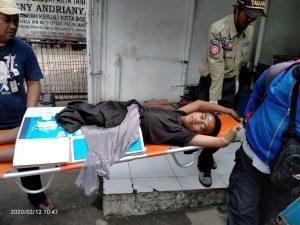 Pria Tanpa Identitas Ditemukan Terkapar Depan Minimarket Simpang Jambu Dua