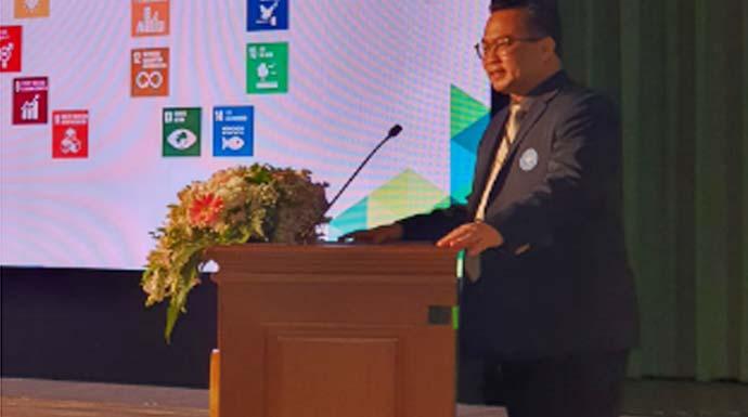 Pidato di Kasetsart University Thailand, Rektor IPB Ingatkan Tantangan Perubahan Iklim