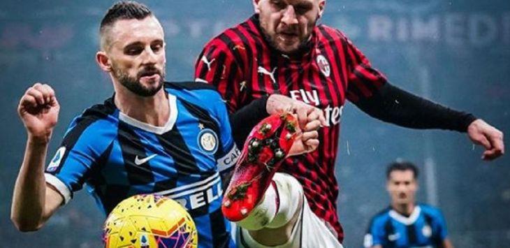 Inter Milan taklukkan AC MIlan dengan skor 4-2, pada laga lanjutan Liga Italia, Senin (10/2) dini hari WIB. (@acmilan)