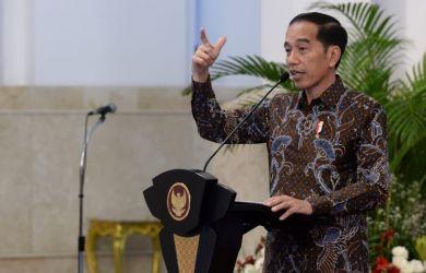 Presiden Jokowi. Foto BPMI Setpres