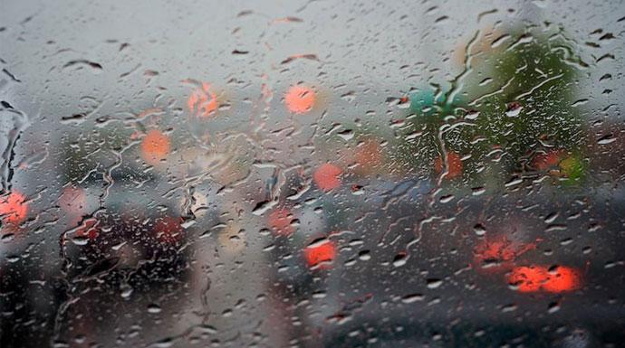 Ilustrasi Hujan Sedang