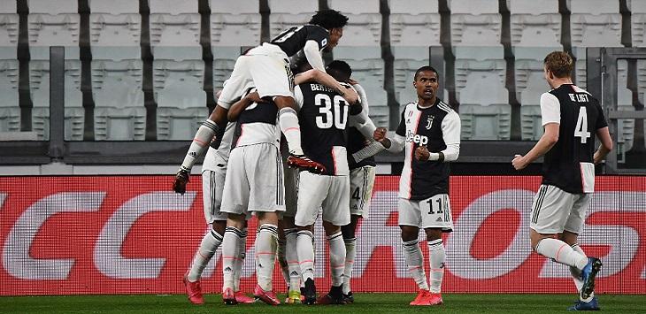 Juventus menang 2-0 atas Inter Milan di Allianz Stadium, Turin, Senin (9/3/2020) dini hari WIB.
