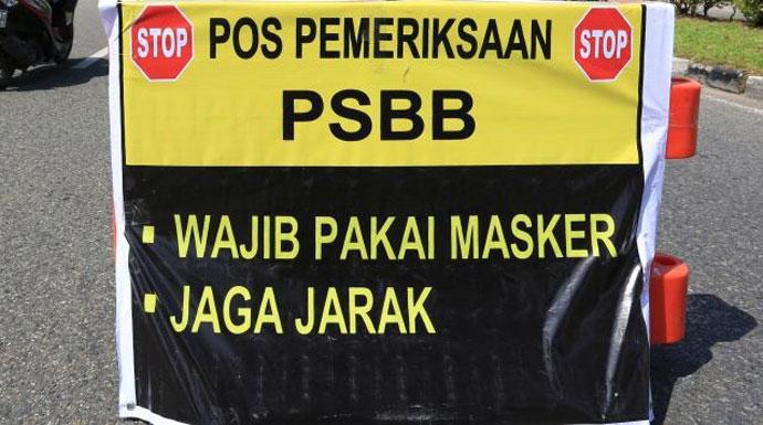 Ilustrasi PSBB