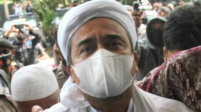 Imam Besar FPI Rizieq Shihab (Dery Ridwansah/JawaPos.com)