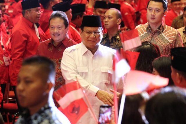 Ketua Umum Partai Gerindra Prabowo Subianto. (Dery Ridwansah/ JawaPos.com)