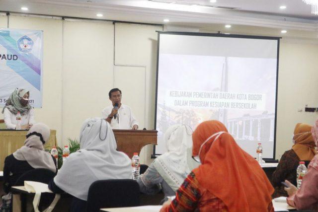 Persamakan Persepsi PAUD dan SD, Disdik Kota Bogor Gelar Bimtek