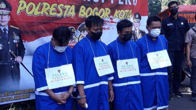 Modal Logat Brunei, Komplotan Kuras ATM Wisatawan Ditangkap