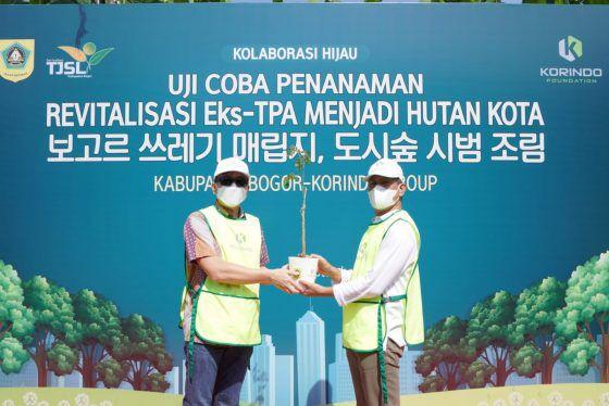 Hutan Kota Pondok Rajeg Mulai Uji Coba