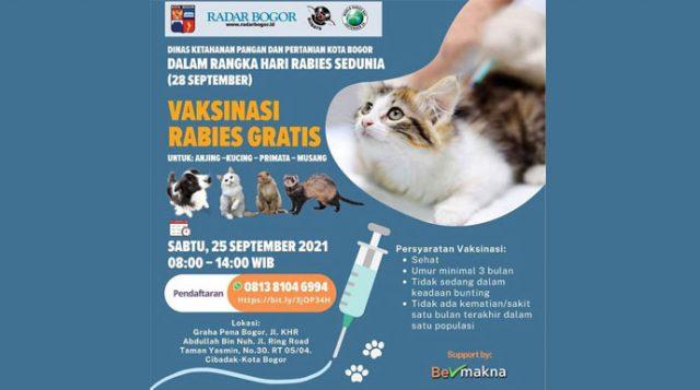 Vaksinasi Rabies