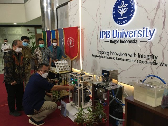 Wow, IPB dan BPI-BRIN Ciptakan Oksigen
