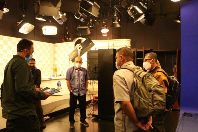 Tim TIK Polbangtan Bogor mengunjungi Multimedia UT