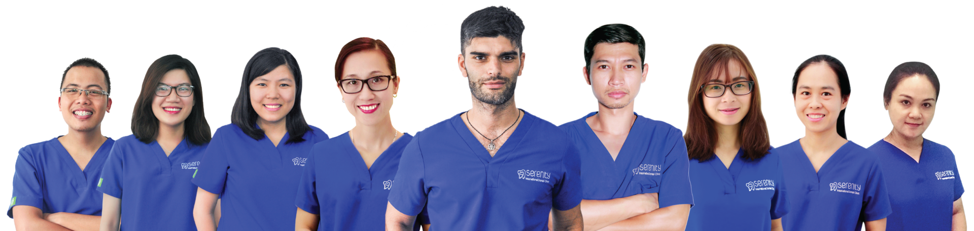 Serenity International Dental Clinic Vietnam doctors