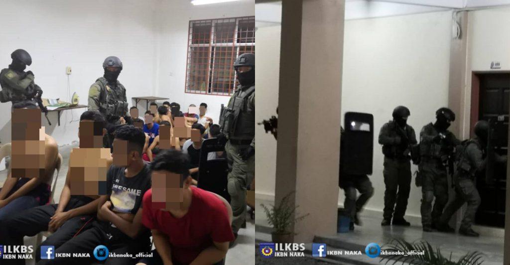 Penuntut IKBN Naka Terkejut 'Diserbu' Pasukan Komando