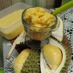 Jom Buat Sendiri Aiskrim Durian Di Rumah, Bahan Pun Tak Banyak.