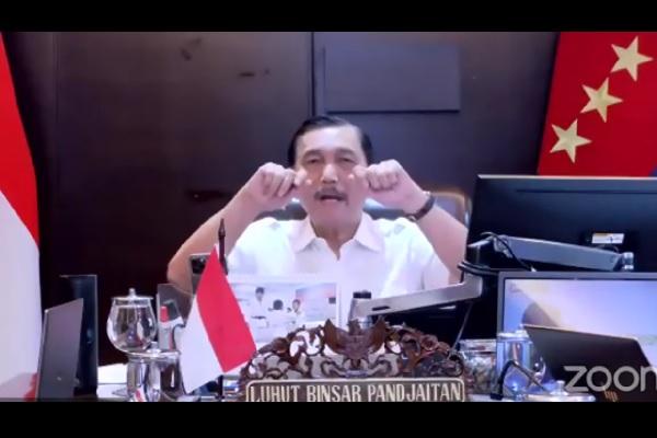 Begini Luhut Pandjaitan Uraikan Indikator Level PPKM di Jawa & Bali