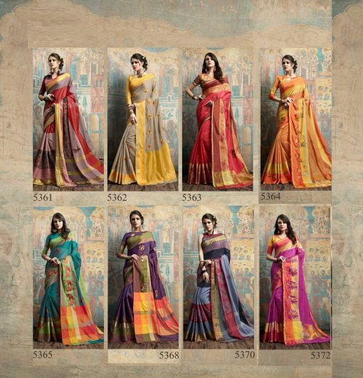 Tanvee Silk (8 Pcs Catalog)