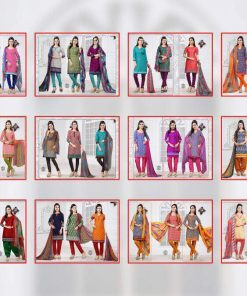 Bahubali (Triple Top) (12 Pcs Catalog)