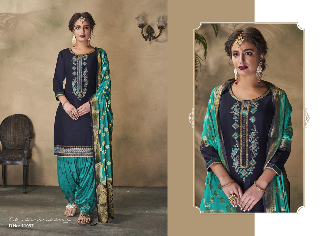 Suvarna By Patiyala Vol-3 (08 Pcs Catalog)