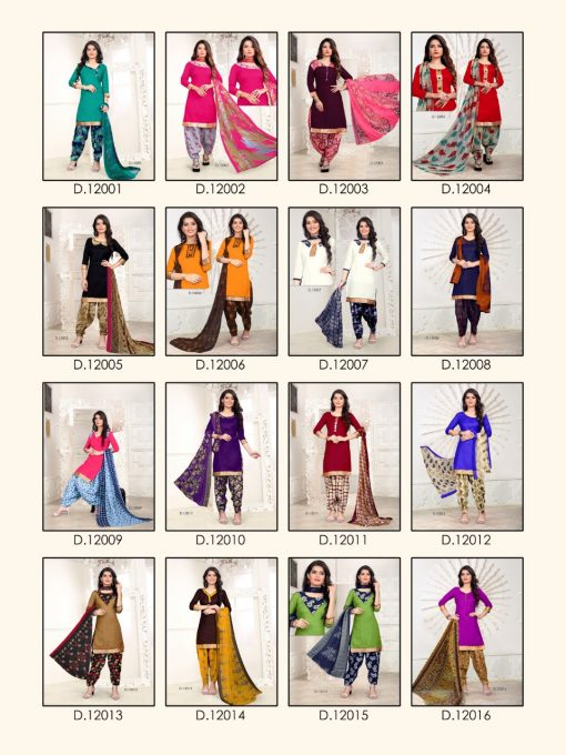 Rani patiyala 12 (16 Pcs Catalog)