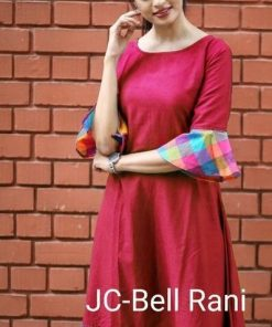 Slub Cotton Kurti (07 Pcs Catalog)