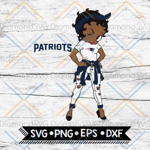 NFL Logo Girl Svg, New Orleans Saints Svg, NFL Svg, Football Svg, Cricut File, Svg