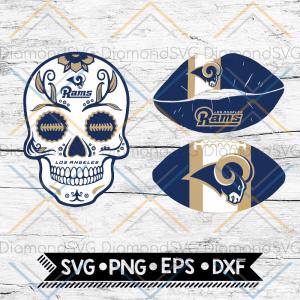 St. Louis Rams Svg, NFL Svg, Bundle, Svg, Cricut File, Football Svg, Skull Svg