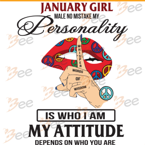 January Girl Svg, Birthday Svg, January Birthday Svg, Born In