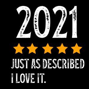 2021 Just As Described I Love It Svg
