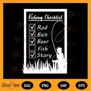 Fishing checklist svg, check list svg, Fishing girl svg, Fishing svg,