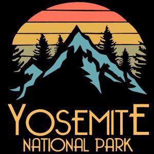 Yosemite National Park California mockup