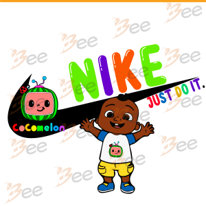 African American Cocomelon Inspired By Nike, Trending Svg, Cocomelon