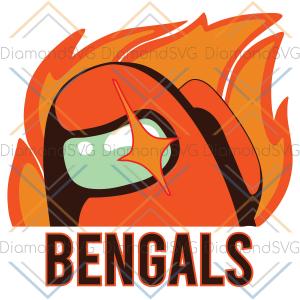 Among Us Cincinnati Bengals Svg, Sport Svg, among Us Svg, Cincinnati