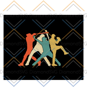 Baseball Retro Vintage, baseball svg, baseball gift, baseball player,