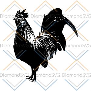CHICKEN SVG farm animal svg, hen svg, rooster svg chick svg