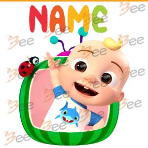 Cocomelon JJ Custom Name Svg, Trending Svg, Cocomelon JJ Svg, Custom
