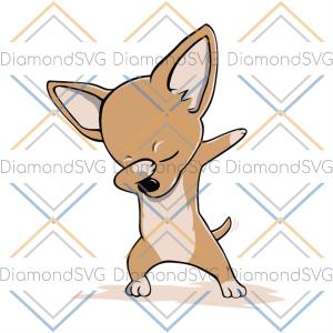 Dabbing Chihuahua Svg Trending Svg, Chihuahua Svg, Chihuahua Gift