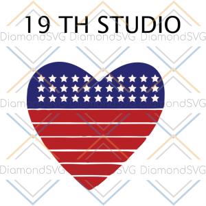 19th studio svg, independence day svg, 4th of july svg, 19th svg,