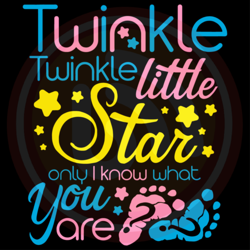 Twinkle Twinkle Little Star Only I Know What You Are Trending Svg TD210309LC10