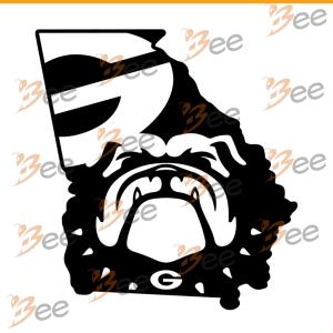 Georgia Bulldogs Football Shirt Svg, Football Club Shirt Svg, Cricut,
