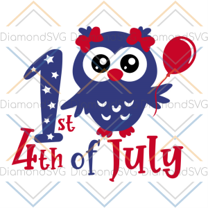 1st 4th of july svg, independence day svg, 4th of july svg, patriotic