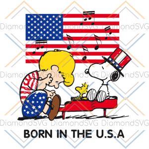 Born in the usa svg trending svg snoopy svg, snoopy lover