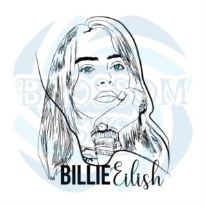 Billie Eilish Svg, Famous People Svg, Billie Eilish, Billie Eilish Svg, Billie Svg, Eilish Svg, Billie, Eilish, Ocean Eyes Svg, Billie Clipart, Billie Cut File, Billie Eilish Cricut, Ocean Eyes, Svg